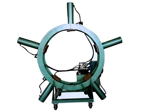 圆木挤缝机